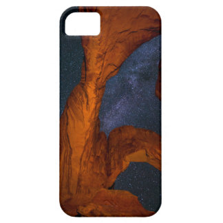 Double Arch And The Milky Way - Utah Barely There iPhone 5 Case