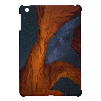Double Arch And The Milky Way - Utah iPad Mini Cases