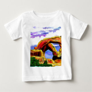 Double Arch Landscape Painting Baby T-Shirt