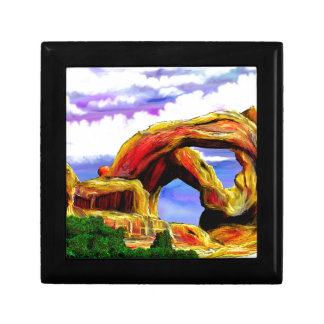 Double Arch Landscape Painting Gift Box