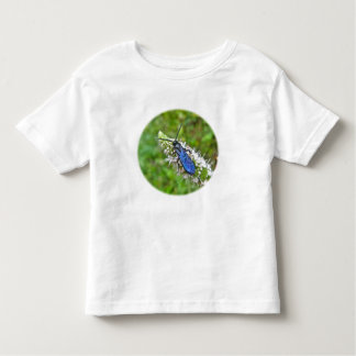 Double Banded Scoliid Wasp on Mint Tshirt