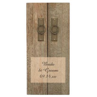 Double Barn Doors Country Wedding Wood USB 2.0 Flash Drive