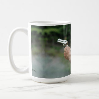 double barrel mug! coffee mug
