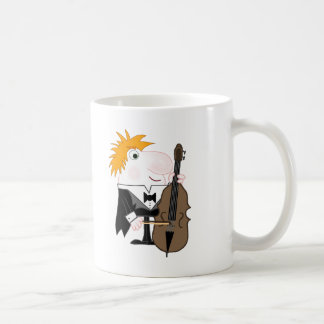 Double Bass Player Coffee Mug