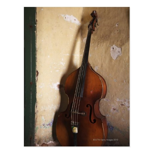 Double Bass Postcards
