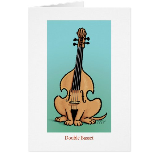 Double Basset Card