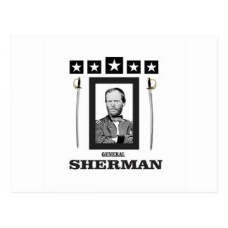 double blade Sherman cw Postcard