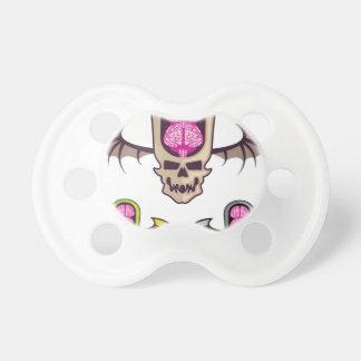 Double brain skull pacifier