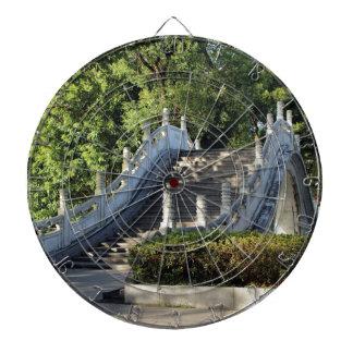 Double bridges, Guilin, China Dartboard