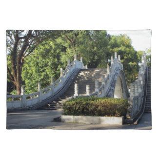 Double bridges, Guilin, China Placemat