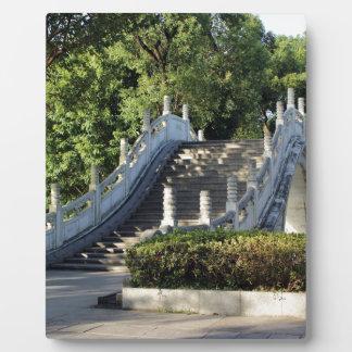 Double bridges, Guilin, China Plaque