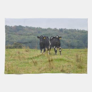 Double Cattle Troube Tea Towel