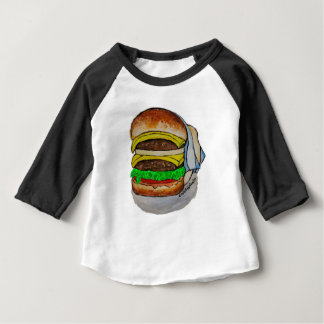 Double Cheeseburger Baby T-Shirt