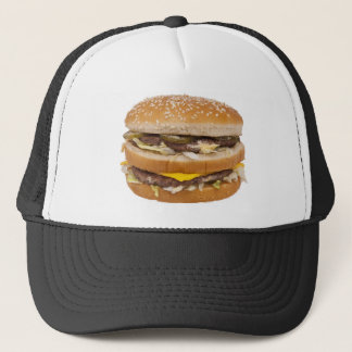 Double cheeseburger hat