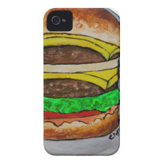 Double Cheeseburger iPhone 4 Cover