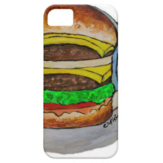 Double Cheeseburger iPhone 5 Cover