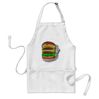 Double Cheeseburger Standard Apron