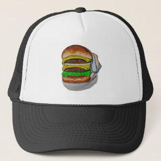 Double Cheeseburger Trucker Hat