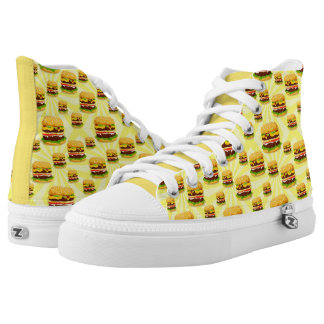 Double Cheeseburgers High Top Sneakers