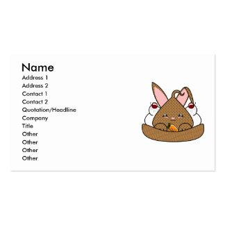 Double Chocolate Chip Hopdrop Waffle Sundae Business Card Template