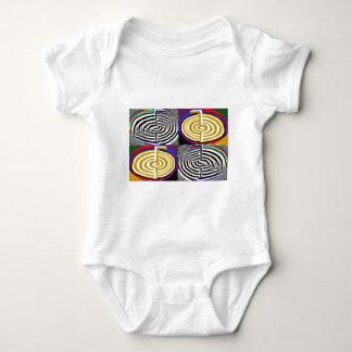 Double Choukuray - Karuna Reiki Sign Baby Bodysuit