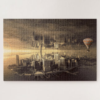 Double City Jigsaw Puzzle