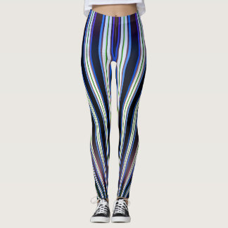 DOUBLE COLOR TWIRLS LEGGINGS