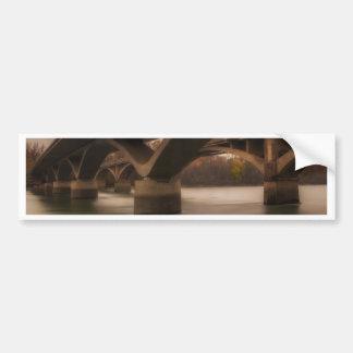 Double Crossing Bumper Sticker