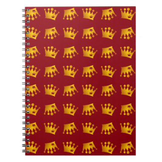 Double Crown Pattern Notebook