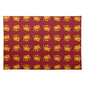 Double Crown Pattern Placemat