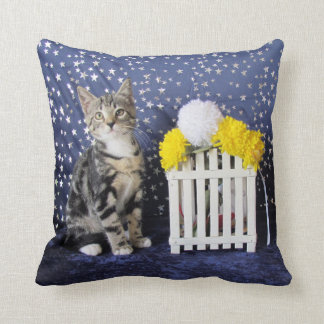 Double Cute - Starring Lilo (2 photos) Throw Pillow