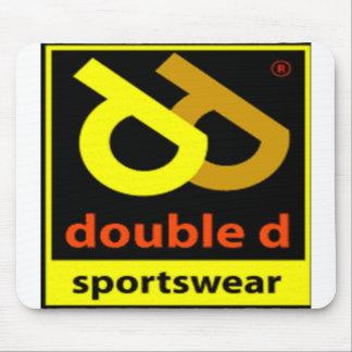 Double D Sportswear Logo Mouse Pads