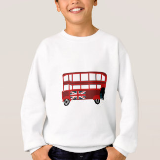 Double Decker Bus Sweatshirt