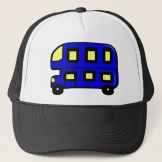 Double Decker Bus Trucker Hat