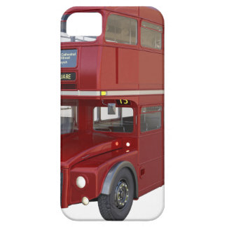 Double Decker Red Bus in Front Profile iPhone 5 Case