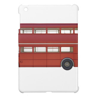 Double Decker Red Bus iPad Mini Covers