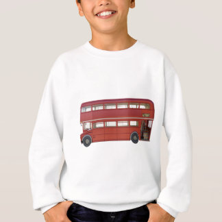 Double Decker Red Bus Sweatshirt