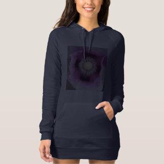 Double Design Blue Hoodie Dress Poppy / Organic
