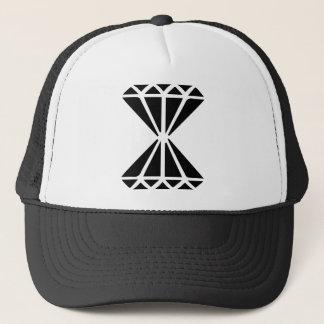 Double Diamond Trucker Hat