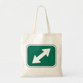Double Direction Arrows Tote Bag