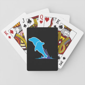 Double Dolphin Playing Cards