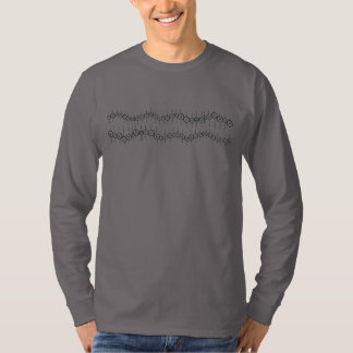 Double Dot Lines Long Sleeve T-Shirt