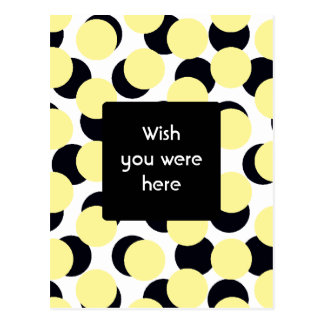 Double Dots Post Card