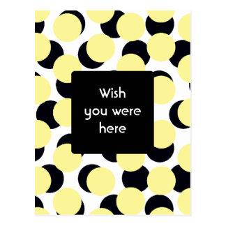 Double Dots Postcard