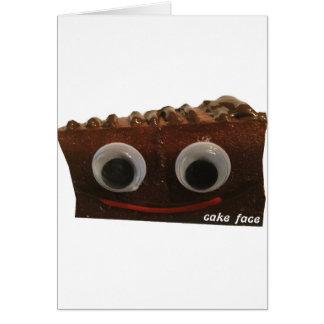 double dutch choco cake face w logo card