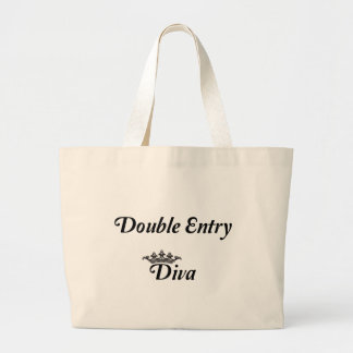 Double Entry Diva Tote Bag