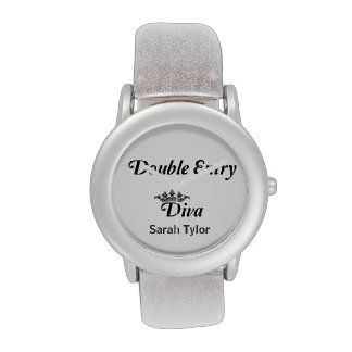 Double Entry Diva Wrist Watch