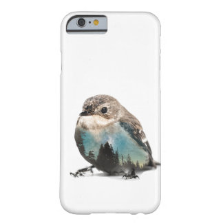 Double Exposure Bird Barely There iPhone 6 Case