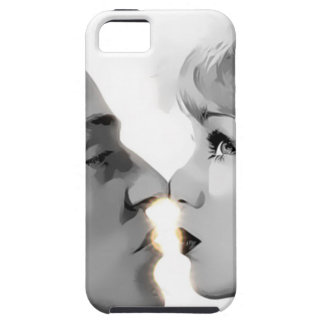 double face aside kissing iPhone 5 cover