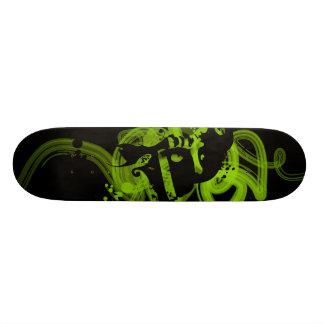 Double Green Skateboard